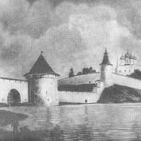 Древняя крепостная архитектура Пскова