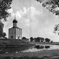 Церковь Покрова на Нерли. Вид с северо-запада