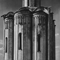 Церковь Покрова на Нерли. Восточный фасад церкви