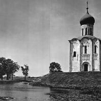 Церковь Покрова на Нерли. Вид на церковь с юга