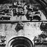 Церковь Покрова на Нерли. Западный фасад. Декор центрального прясла