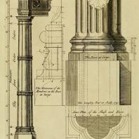 Gothic Architecture. Batty & Thomas Langley. 1742. Plate 1