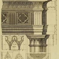 Gothic Architecture. Batty & Thomas Langley. 1742. Plate 2