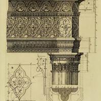 Gothic Architecture. Batty & Thomas Langley. 1742. Plate 6