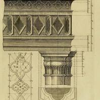 Gothic Architecture. Batty & Thomas Langley. 1742. Plate 8