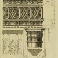 Gothic Architecture. Batty & Thomas Langley. 1742. Plate 9