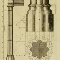 Gothic Architecture. Batty & Thomas Langley. 1742. Plate 10