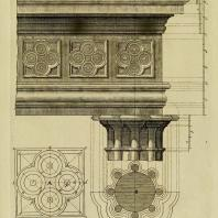 Gothic Architecture. Batty & Thomas Langley. 1742. Plate 14