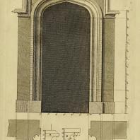 Gothic Architecture. Batty & Thomas Langley. 1742. Plate 17