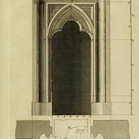 Gothic Architecture. Batty & Thomas Langley. 1742. Plate 18