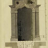 Gothic Architecture. Batty & Thomas Langley. 1742. Plate 19