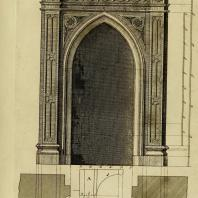 Gothic Architecture. Batty & Thomas Langley. 1742. Plate 20