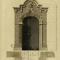 Gothic Architecture. Batty & Thomas Langley. 1742. Plate 21