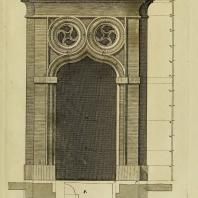 Gothic Architecture. Batty & Thomas Langley. 1742. Plate 23