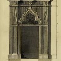 Gothic Architecture. Batty & Thomas Langley. 1742. Plate 24