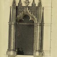 Gothic Architecture. Batty & Thomas Langley. 1742. Plate 25