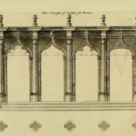 Gothic Architecture. Batty & Thomas Langley. 1742. Plate 29