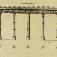 Gothic Architecture. Batty & Thomas Langley. 1742. Plate 30