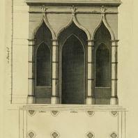 Gothic Architecture. Batty & Thomas Langley. 1742. Plate 32