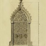 Gothic Architecture. Batty & Thomas Langley. 1742. Plate 38