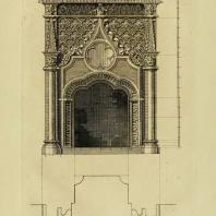Gothic Architecture. Batty & Thomas Langley. 1742. Plate 43