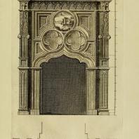 Gothic Architecture. Batty & Thomas Langley. 1742. Plate 44