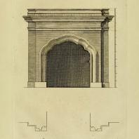 Gothic Architecture. Batty & Thomas Langley. 1742. Plate 45