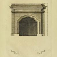 Gothic Architecture. Batty & Thomas Langley. 1742. Plate 45