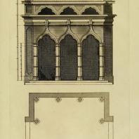 Gothic Architecture. Batty & Thomas Langley. 1742. Plate 49