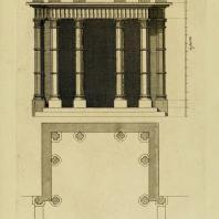 Gothic Architecture. Batty & Thomas Langley. 1742. Plate 50