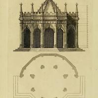 Gothic Architecture. Batty & Thomas Langley. 1742. Plate 52