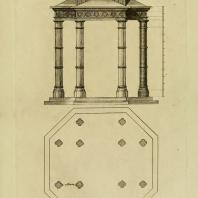 Gothic Architecture. Batty & Thomas Langley. 1742. Plate 53