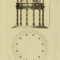 Gothic Architecture. Batty & Thomas Langley. 1742. Plate 55