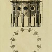 Gothic Architecture. Batty & Thomas Langley. 1742. Plate 56