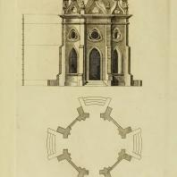 Gothic Architecture. Batty & Thomas Langley. 1742. Plate 57