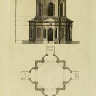 Gothic Architecture. Batty & Thomas Langley. 1742. Plate 58