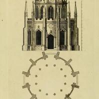 Gothic Architecture. Batty & Thomas Langley. 1742. Plate 59