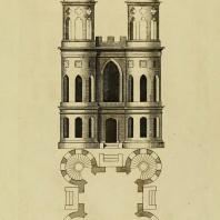 Gothic Architecture. Batty & Thomas Langley. 1742. Plate 61