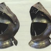 Рыцарский шлем — армет. Западная Европа Начало XVI в.