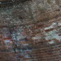 Каменецкая башня. Кладка стены верхнего яруса