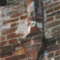 Каменецкая башня. Остаток нервюры верхнего перекрытия башни