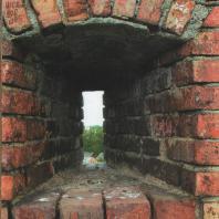 Каменецкая башня. Бойница в верхнем ярусе