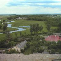 Каменецкая башня. Вид на реку Лесная с верха башни