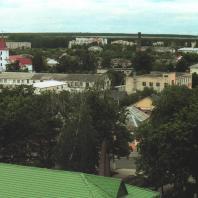 Каменецкая башня. Вид на город с башни