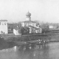 Псков. Церковь Паромо-Успенская 1441 — 1521 гг.