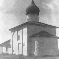 Псков. Церковь Николая «от Каменной ограды». XV век.