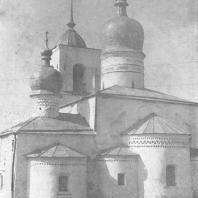 г. Остров. Никольский собор XVI века
