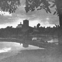 Псков. Вид на реку Пскову и Гремячую башню 1525 года