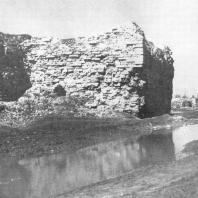 Псков. Запсковье. Глухая башня к. XV века