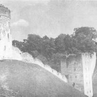 Печоры. Юго-западная часть крепости 1558-1565 гг.